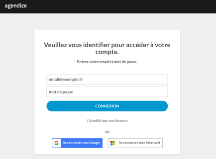 Google et Microsoft Sign-in